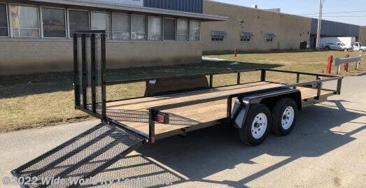 2021 Bri-Mar UT-714 7 X 14 Tube Top Rails - New Landscape For Sale by Wide World RV Center, Inc. in Wilkes-Barre, Pennsylvania