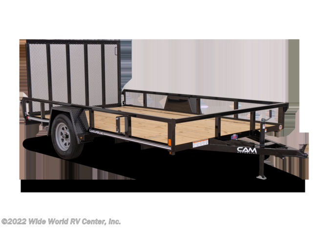 2021 CAM Superline STP7212TA-B-030 6 x 12 Tube Top Landscape/Utility trailer - New Landscape For Sale by Wide World RV Center, Inc. in Wilkes-Barre, Pennsylvania