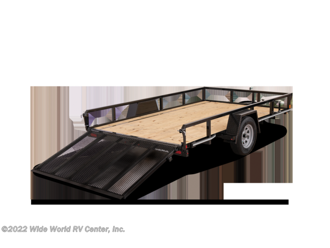 2021 STP7212TA-B-030 6 x 12 Tube Top Landscape/Utility trailer by CAM Superline from Wide World RV Center, Inc. in Wilkes-Barre, Pennsylvania