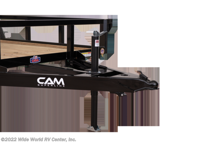 New 2021 CAM Superline STP7212TA-B-030 6 x 12 Tube Top Landscape/Utility trailer available in Wilkes-Barre, Pennsylvania