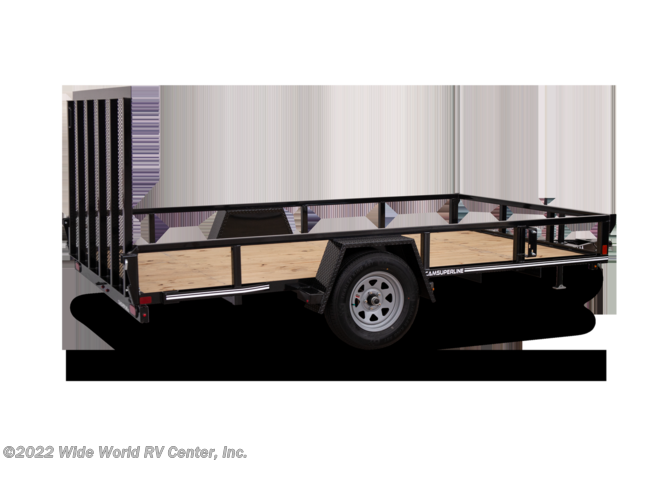 2021 STP7210TA-B 6 x 10 Tube Top Landscape/Utility trailer by CAM Superline from Wide World RV Center, Inc. in Wilkes-Barre, Pennsylvania