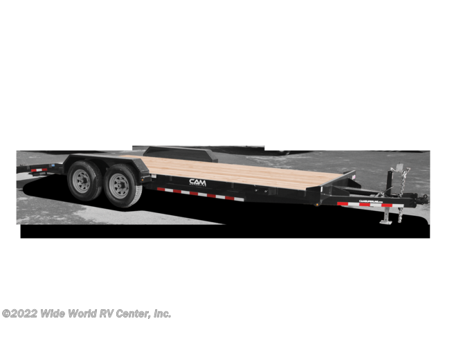 New 2021 CAM Superline P5CAM20CH Car Hauler - Wood Deck 5 TON 20FT. available in Wilkes-Barre, Pennsylvania