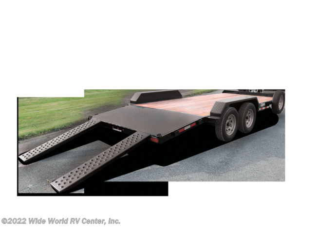 2021 CAM Superline P5CAM20CH Car Hauler - Wood Deck 5 TON 20FT. - New Car Hauler For Sale by Wide World RV Center, Inc. in Wilkes-Barre, Pennsylvania
