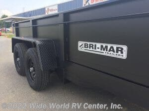 2021 Bri-Mar DT712LPE-12 6 TON Low Profile Dump - New Dump For Sale by Wide World RV Center, Inc. in Wilkes-Barre, Pennsylvania