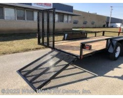 2021 Bri-Mar UT-714 TUBE TOP UTILITY TRAILER