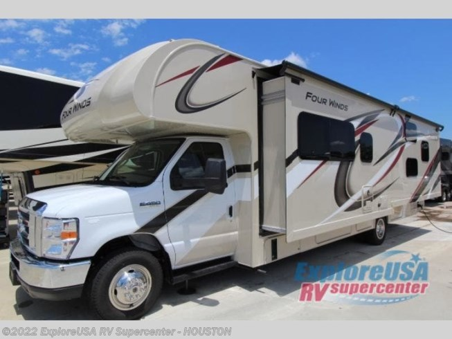 2020 Thor Motor Coach Four Winds 31E - New Class C For Sale by ExploreUSA RV Supercenter - ALVIN, TX in Houston, Texas features Slideout