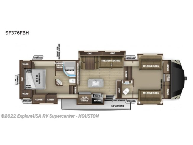 New 2021 Highland Ridge Silverstar SF376FBH available in Houston, Texas