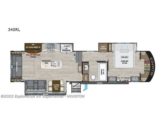 New 2021 Alliance RV Paradigm 340RL available in Houston, Texas