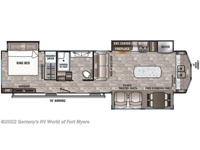2021 Forest River Cedar Creek Cottage - New Destination Trailer For Sale by Gerzeny's RV World of Fort Myers in Fort Myers, Florida