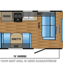 2018 Jayco Jay Flight 26BH floorplan image