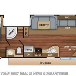 2018 Jayco Jay Flight 38BHDS floorplan image