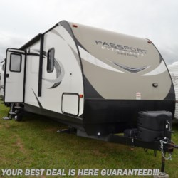 2017 Keystone Passport Ultra Lite Grand Touring 3350BHWE  - Travel Trailer Used  in Smyrna DE For Sale by Delmarva RV Center in Smyrna call 302-212-4414 today for more info.