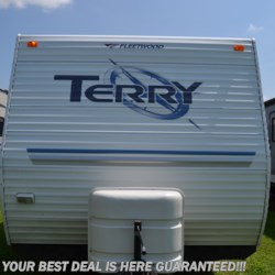 2005 Fleetwood Terry 250RKS  - Travel Trailer Used  in Smyrna DE For Sale by Delmarva RV Center in Smyrna call 302-212-4414 today for more info.