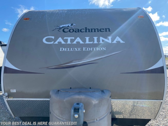 2013 Coachmen Catalina 25RKS - Used Travel Trailer For Sale by Delmarva RV Center in Smyrna in Smyrna, Delaware features Awning, Air Conditioning, Microwave, Stove Top Burner, Shower