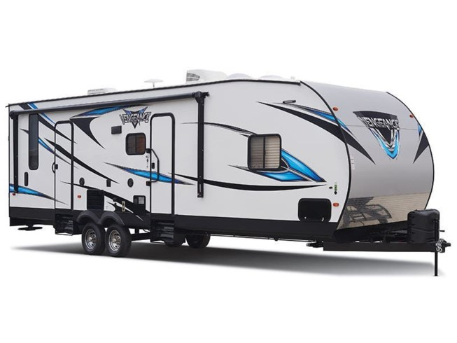Stock Image for 2019 Forest River Vengeance Rogue 25V (options and colors may vary)