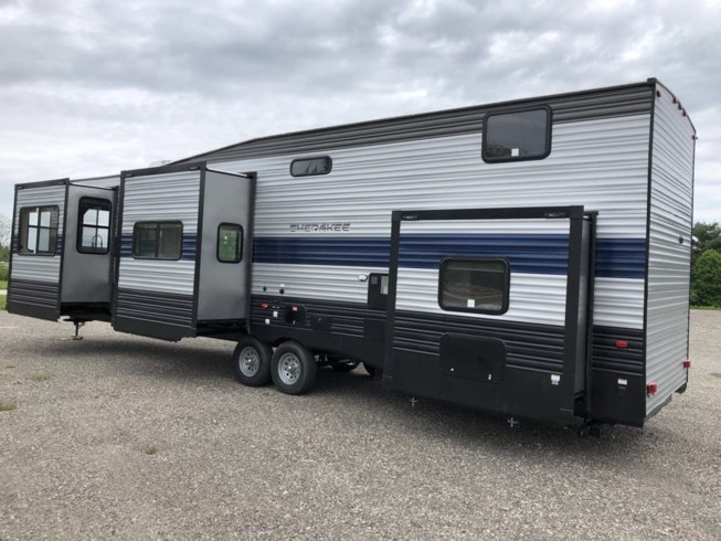 2021 Forest River Cherokee Destination 39SR - New Travel Trailer For Sale by RV Dynasty in Bunker Hill, Indiana