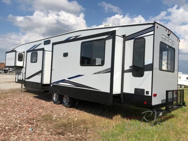 New 2021 Forest River Cherokee Arctic Wolf 3660 SUITE available in Bunker Hill, Indiana