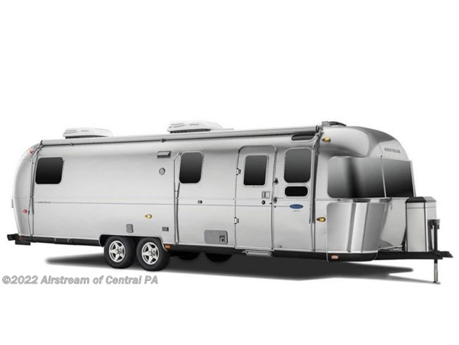 Stock Image for 2018 Airstream Classic 30RB (options and colors may vary)