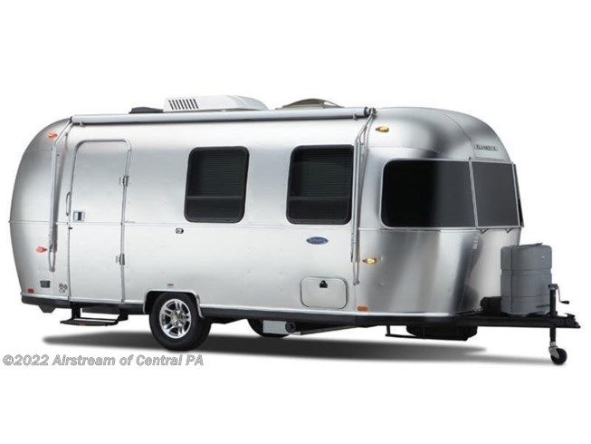 Stock Image for 2018 Airstream Sport 22FB (options and colors may vary)