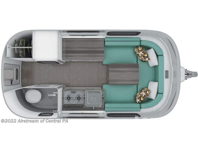 2019 Airstream Nest 16U floorplan image