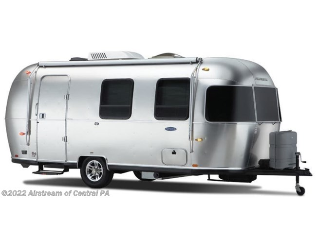 Stock Image for 2019 Airstream Sport 22FB (options and colors may vary)