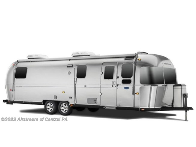Stock Image for 2019 Airstream Classic 30RB (options and colors may vary)