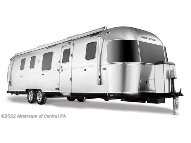 Stock Image for 2021 Airstream Classic 30RB (options and colors may vary)