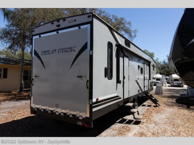 2019 Forest River Cherokee Wolf Pack 315PACK12 - Used Toy Hauler For Sale by Optimum RV in Zephyrhills, Florida features Slideout