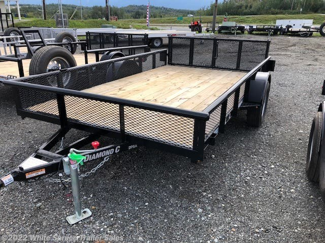"2018 Diamond C 83"" X 12' UTILITY WITH MESH SIDES"