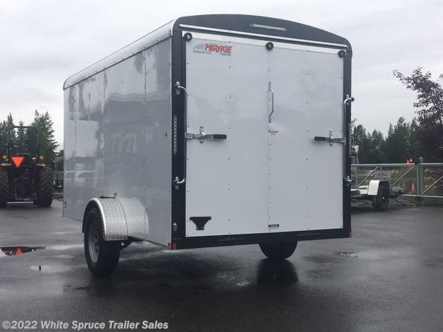 2018 Mirage 6' X 12' SINGLE AXLE CARGO 3K RAMP DOOR