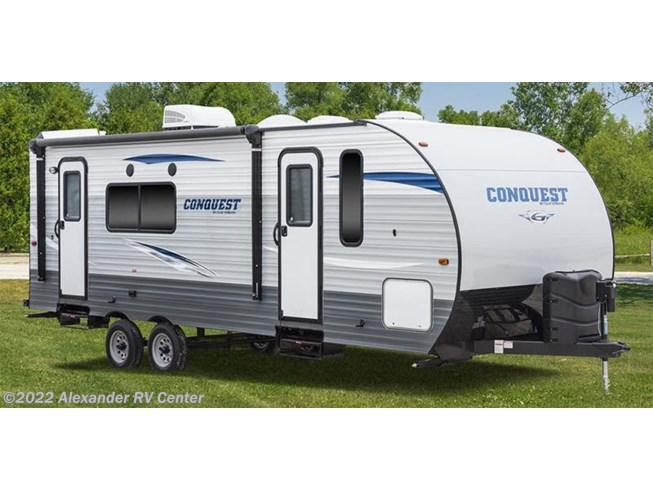 Stock Image for 2020 Gulf Stream Conquest Lite Ultra Lite 248BH (options and colors may vary)
