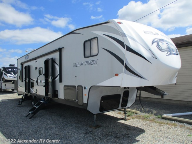"Used 2018 Forest River Cherokee Wolf Pack 315PACK12 ""TOY HAULER"" available in Clayton, Delaware"
