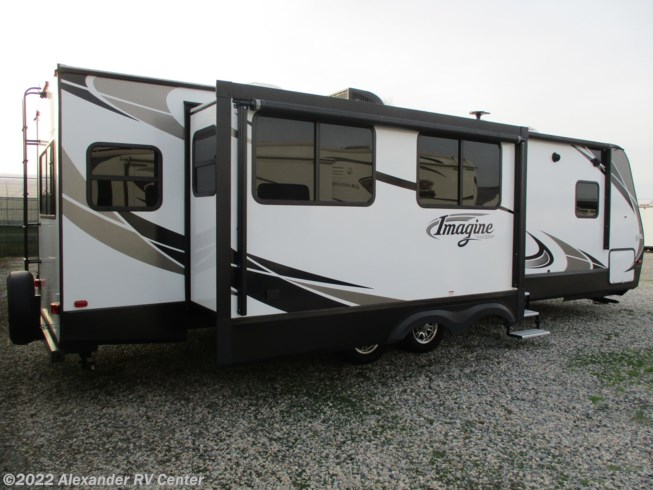 2018 Grand Design Imagine 2950-RL - Used Travel Trailer For Sale by Alexander RV Center in Clayton, Delaware features Non-Smoking Unit, Fireplace, Spare Tire Kit, Roof Vents, Exterior Speakers