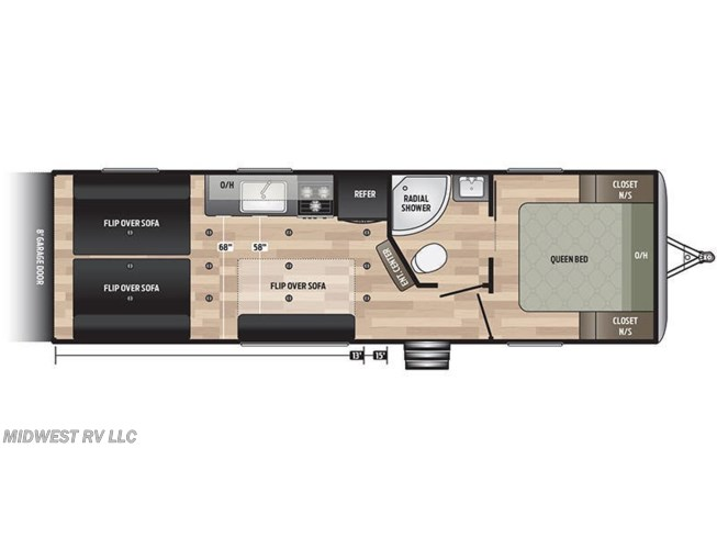 2020 Keystone Springdale 27TH floorplan image