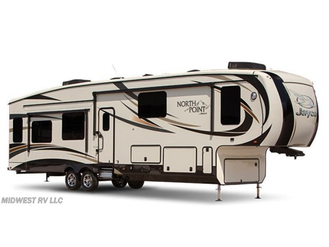 Stock Image for 2016 Jayco North Point 377RLBH (options and colors may vary)