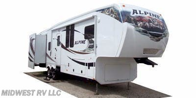 Stock Image for 2011 Keystone Alpine 3640RL (options and colors may vary)