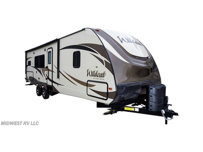 Stock Image for 2019 Forest River Wildcat 292QBD (options and colors may vary)