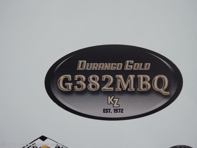 2020 Durango Gold 382MBQ by K-Z from Dad's Camper Outlet in Gulfport, Mississippi