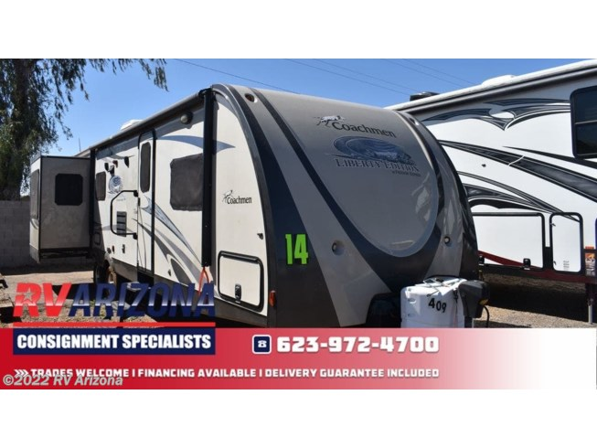 Used 2014 Coachmen Freedom Express Liberty Edition 298REDS available in El Mirage, Arizona