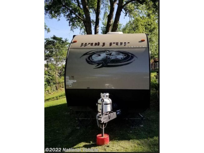 2018 Forest River Cherokee Wolf Pup 16BHS - Used Travel Trailer For Sale by National Vehicle in Parkville, Missouri