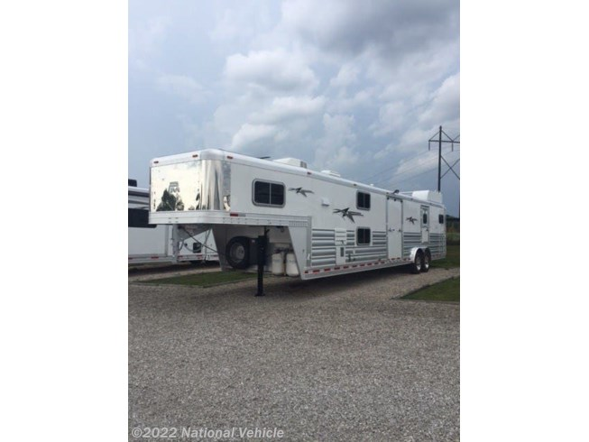 Used 2016 Platinum Coach Custom 2+1 Horse Travel Trailer with Living Quarte available in Omaha, Nebraska