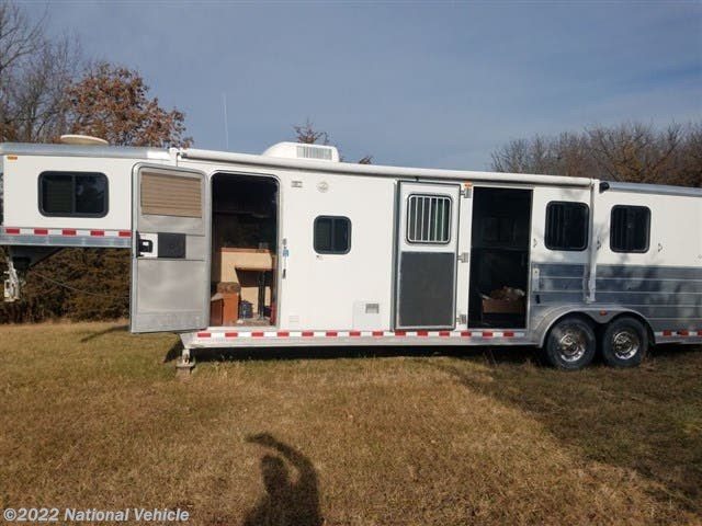 2006 Kiefer Built Genesis 380 25' 3 Horse Trailer with Living Quarters - Used Horse Trailer For Sale by National Vehicle in Omaha, Nebraska
