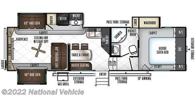 2018 Forest River Flagstaff 8529RLWS - Used Fifth Wheel For Sale by National Vehicle in Plant City, Florida