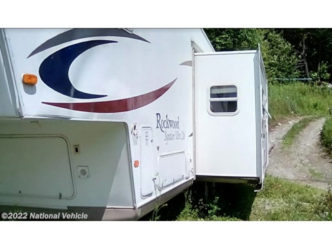Used 2006 Forest River Rockwood 8281SS available in Jeffersonville, Vermont