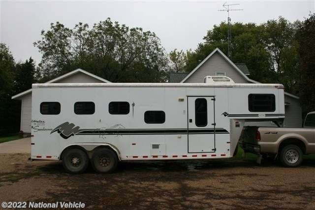 Used 1999 Sundowner Aztec 22' 3 Horse With Living Quarters available in Omaha, Nebraska