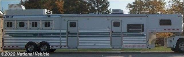 2004 Miscellaneous 4Star Deluxe 4 Horse Aluminum Trailer W/ Custom Bu - Used Horse Trailer For Sale by National Vehicle in Omaha, Nebraska