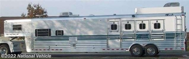 2004 4Star Deluxe 4 Horse Aluminum Trailer W/ Custom Bu by Miscellaneous from National Vehicle in Omaha, Nebraska
