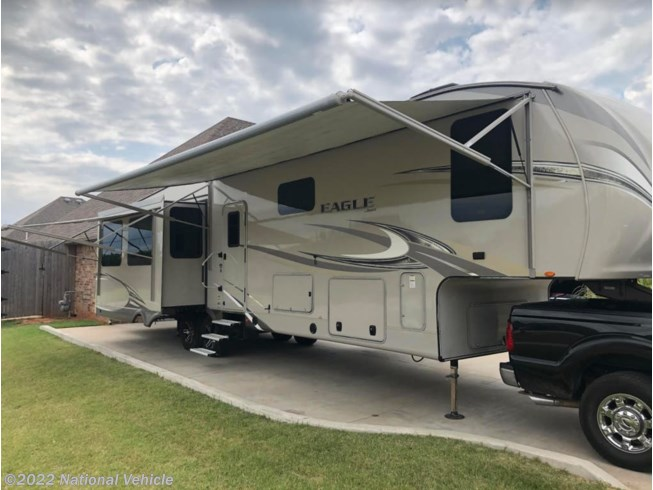 2017 Jayco Eagle 355MBQS - Used Fifth Wheel For Sale by National Vehicle in Eldmond, Oklahoma