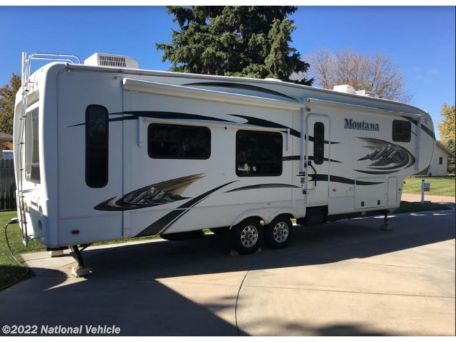 2011 Keystone Montana Hickory 3580RL - Used Fifth Wheel For Sale by National Vehicle in Grand Island, Nebraska