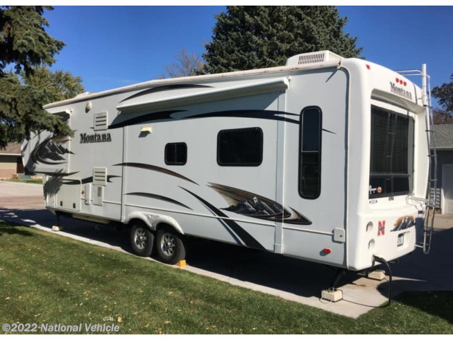 2011 Montana Hickory 3580RL by Keystone from National Vehicle in Grand Island, Nebraska